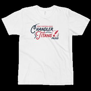 LTS Chandler Titans White Script T-shirt 2020