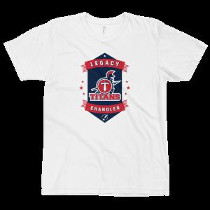 LTS Chandler Titans White Logo T-shirt 2020